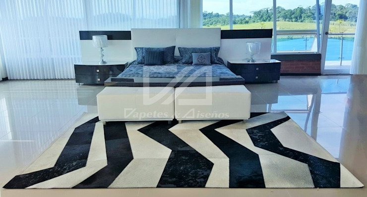 Ambientes Salas modernas de Tapetes & Diseños Moderno