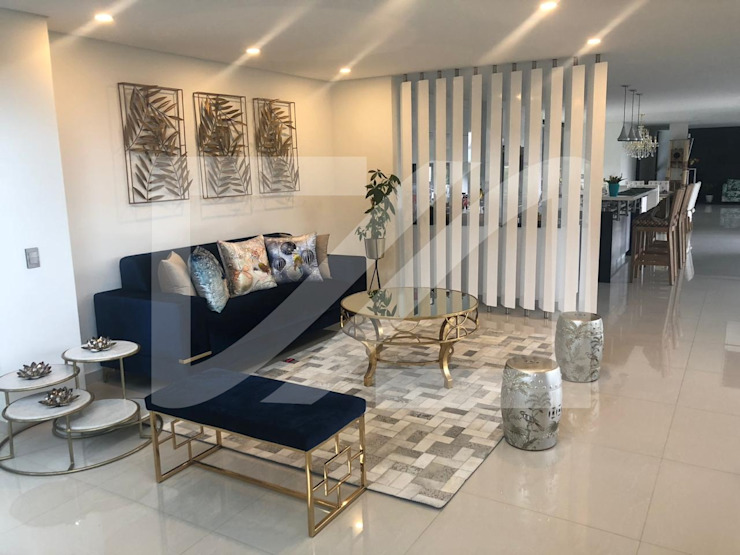 Ambiente Salas modernas de Tapetes & Diseños Moderno