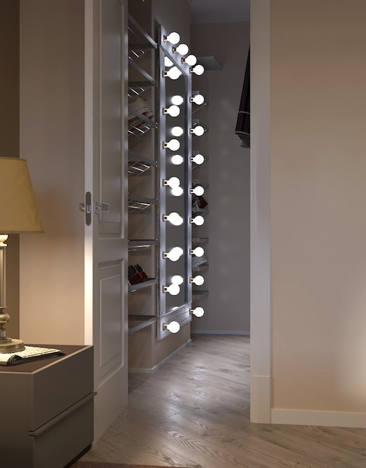 Closets de estilo moderno de Molyako Design Moderno