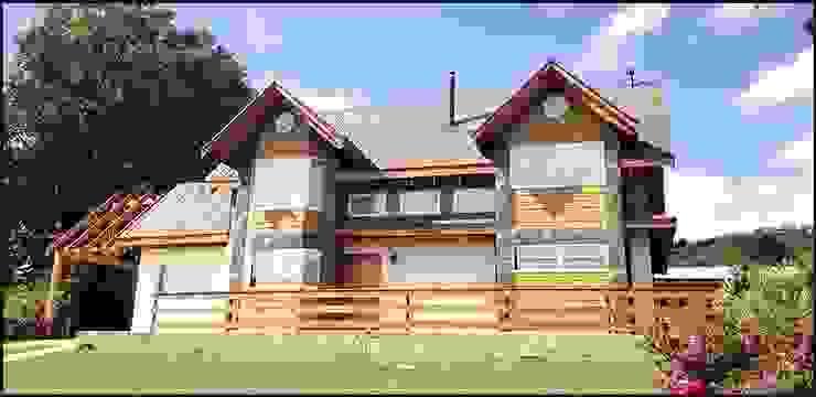 casa habitación panguipulli Casas estilo moderno: ideas, arquitectura e imágenes de constructora ReyGer Moderno