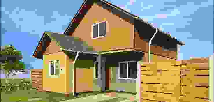 construcción villa quinta verniory lautaro Casas estilo moderno: ideas, arquitectura e imágenes de constructora ReyGer Moderno