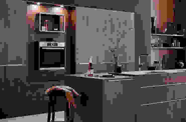 Iron Grey Ceramic Kitchen : modern  by LWK Kitchens SA, Modern Ceramic