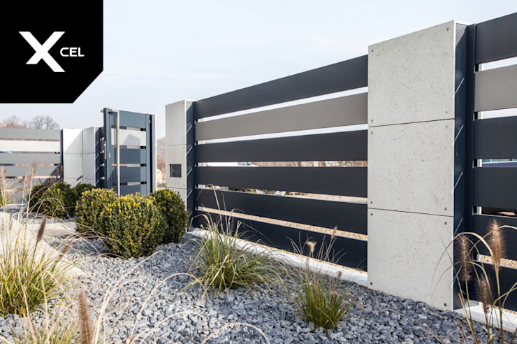 XCEL Fence Modern Garden