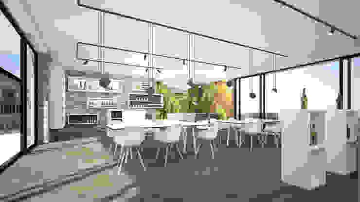 Salle multimédia moderne par Karl Kaffenberger Architektur | Einrichtung Moderne