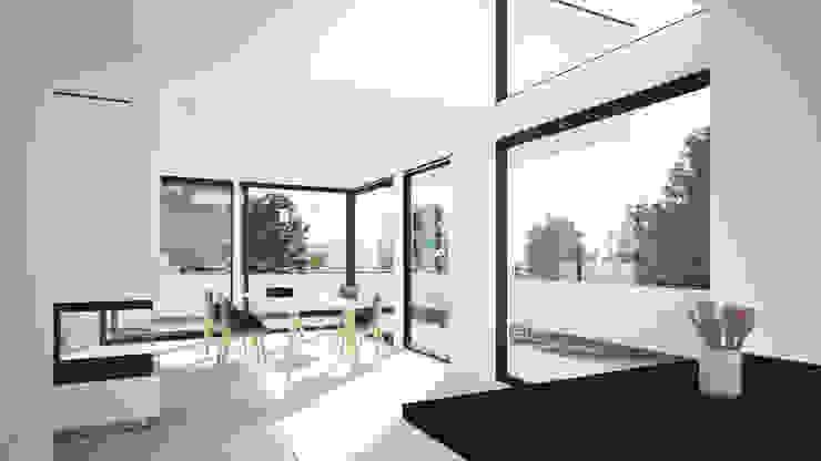 Comedores de estilo moderno de Karl Kaffenberger Architektur | Einrichtung Moderno