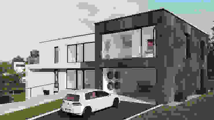 Garage / Hangar modernes par Karl Kaffenberger Architektur | Einrichtung Moderne