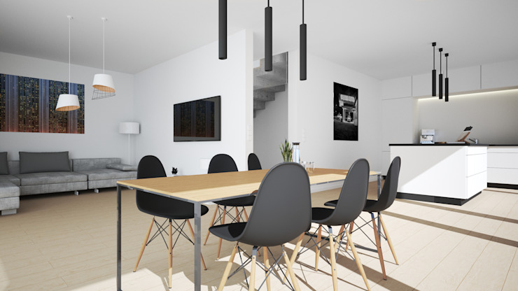 Salle à manger moderne par Karl Kaffenberger Architektur | Einrichtung Moderne