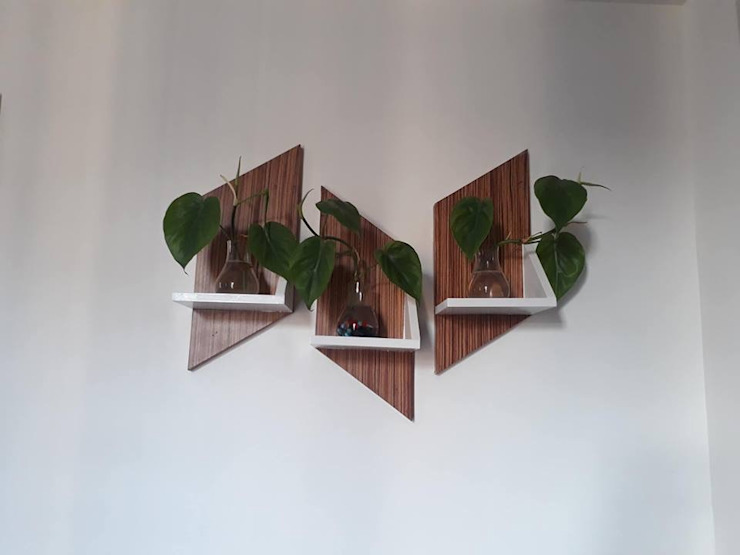 Decorative shelves SHUFFLE DESIZN BedroomAccessories & decoration Engineered Wood Brown