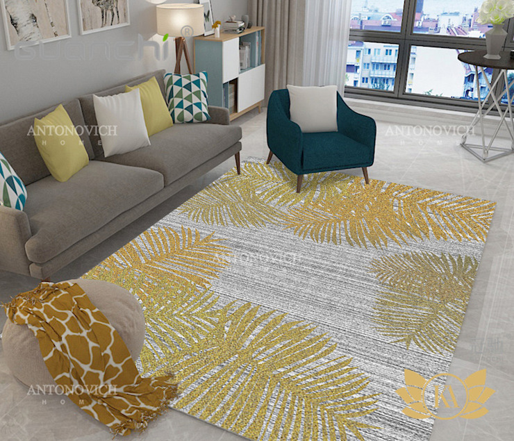 Creative Stunning Carpet Designs for your Home by Luxury Antonovich Design