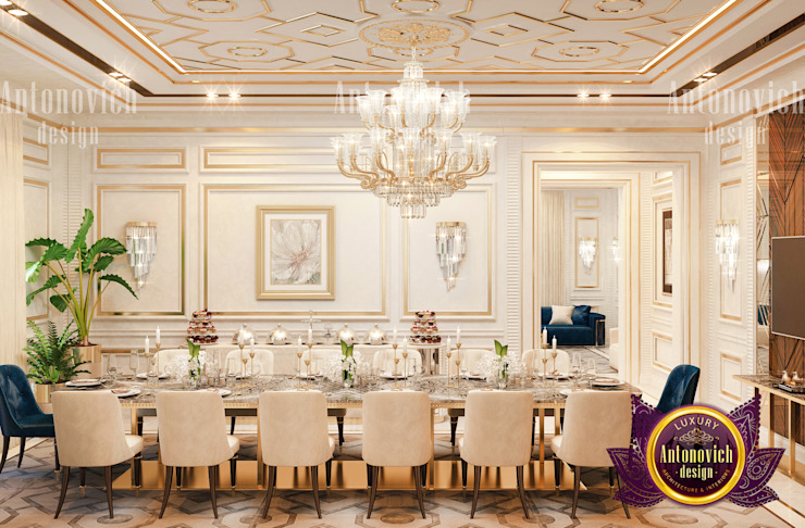 Extravagant Interior Style by Luxury Antonovich Design