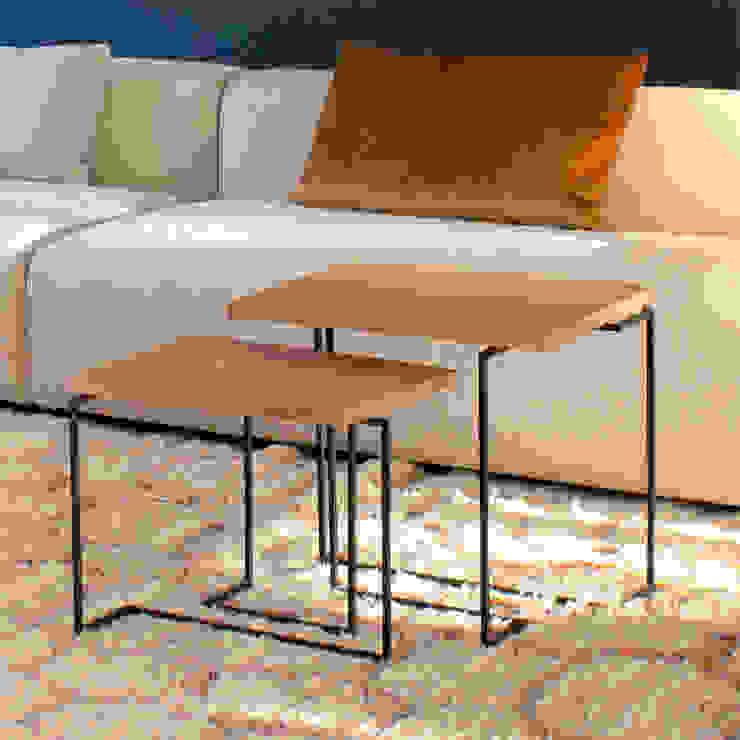 Salontafels De Wissel: modern  door PLANKSTAAL, Modern