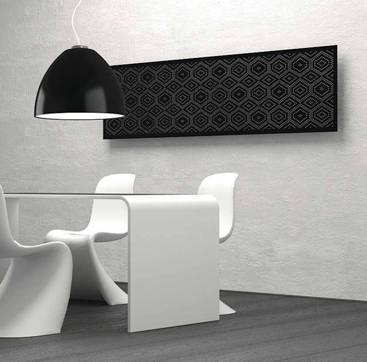 RF Design GmbH Comedores de estilo moderno Gris