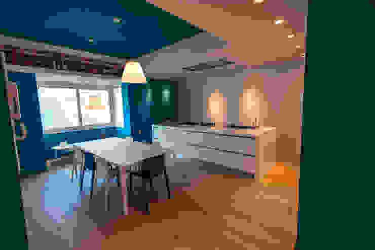 Cucina ad isola e parquet Bolefloor Cucina moderna Legno