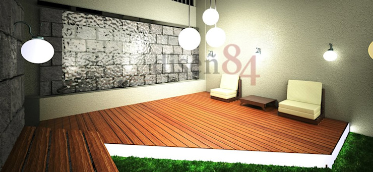 根據 MSG Architecture SA DE CV 現代風 塑木複合材料