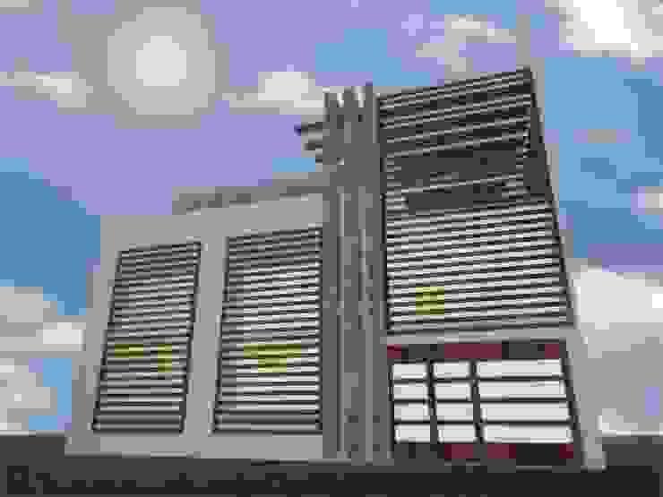 根據 MSG Architecture SA DE CV 現代風 強化水泥