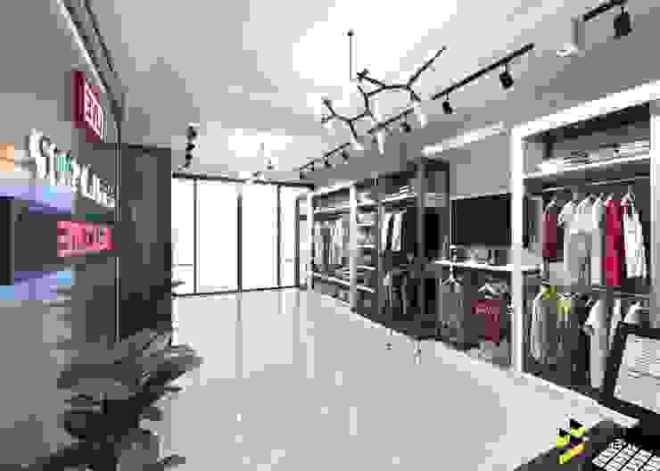 ผลงานการออกแบบ Shop ที่ โคราช: ทันสมัย  โดย Bcon Interior, โมเดิร์น