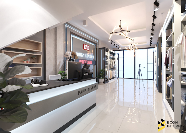 ผลงานการออกแบบ Shop ที่ โคราช: ทันสมัย  โดย Bcon Interior , โมเดิร์น