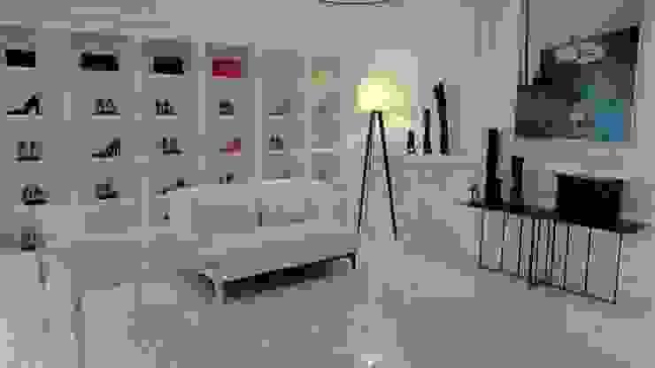 DECORACIÓN INTERIOR ZAPATERÍA Oficinas y tiendas de estilo minimalista de VURPURA INSTALACIONES COMERCIALES Minimalista