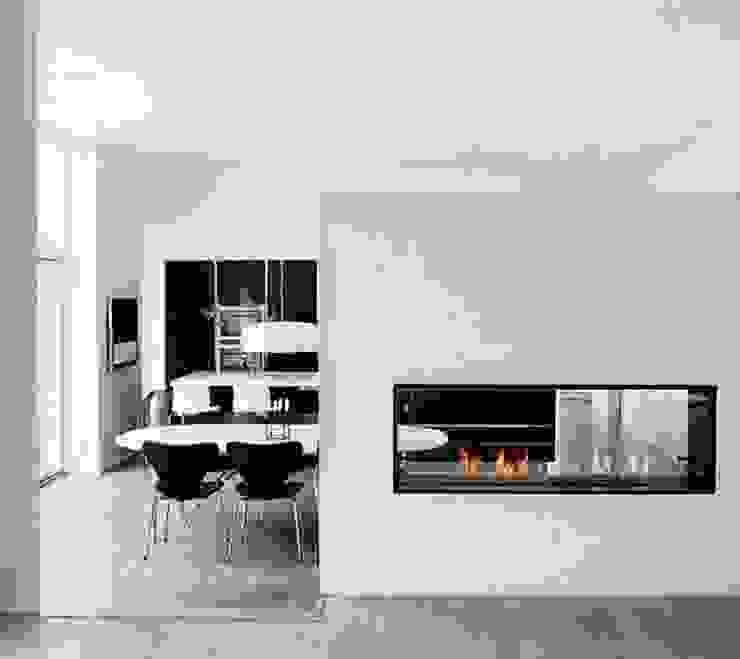 Einbauethanolkamin Montreal Moderne Esszimmer von RF Design GmbH Modern