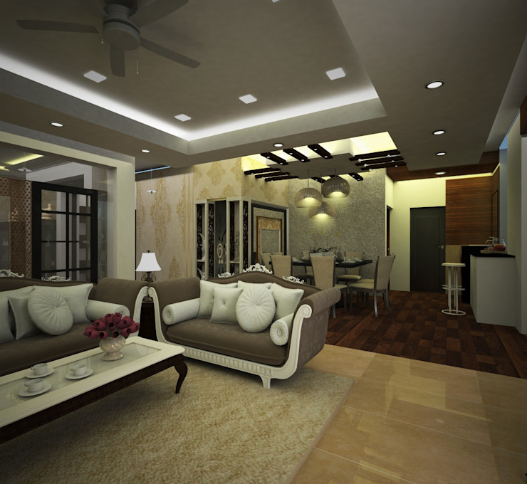 Interior designing services in Hyderabad by Sky Architects by Sky architects