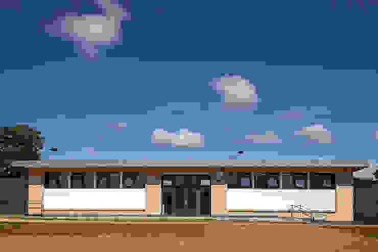 Sports Pavilion for school by Cayford Design Modern Bricks