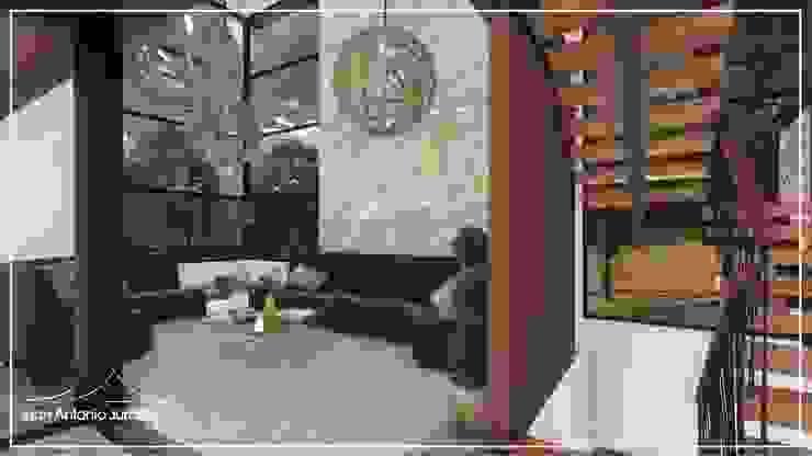 Salas de estar  por Juan Jurado Arquitetura & Engenharia,