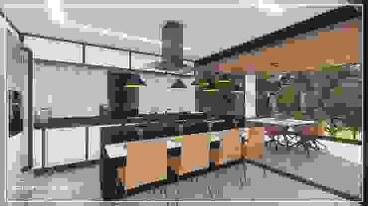 Salas de jantar  por Juan Jurado Arquitetura & Engenharia,