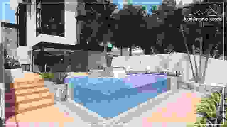Infinity pool by Juan Jurado Arquitetura & Engenharia