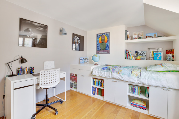 Agence KP Modern nursery/kids room