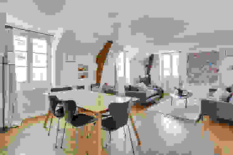 Agence KP Modern dining room