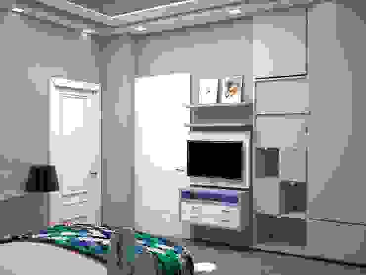 GUEST BEDROOM: modern  by Manglam Decor,Modern