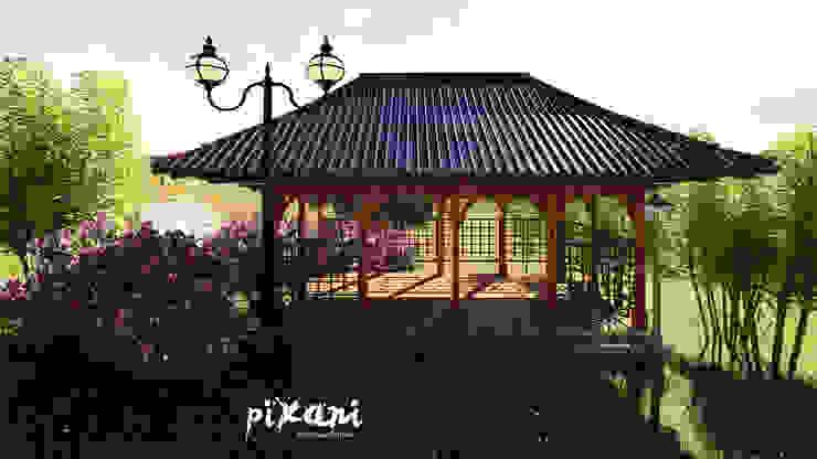 PIXANI STUDIOS Modern Garden
