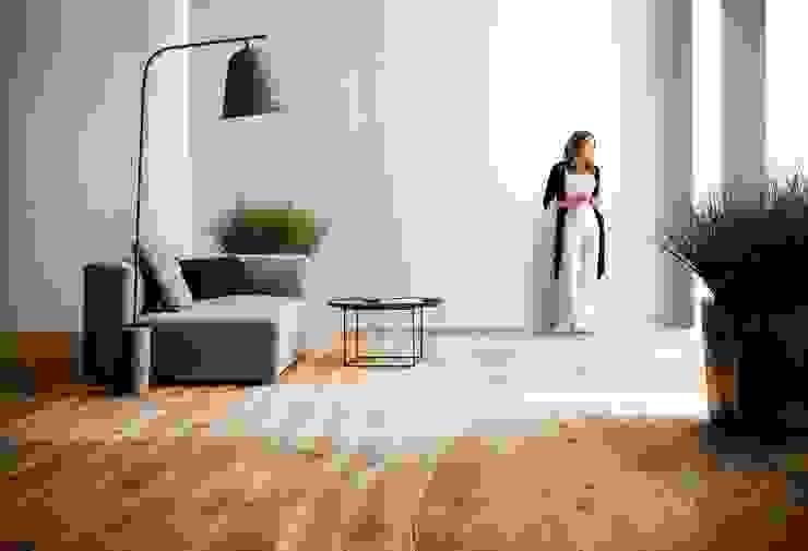 Unico come voi Soggiorno moderno di Bolefloor Moderno Legno Effetto legno