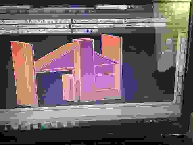 MSG Architecture SA DE CV Kleines Haus Stein Beige