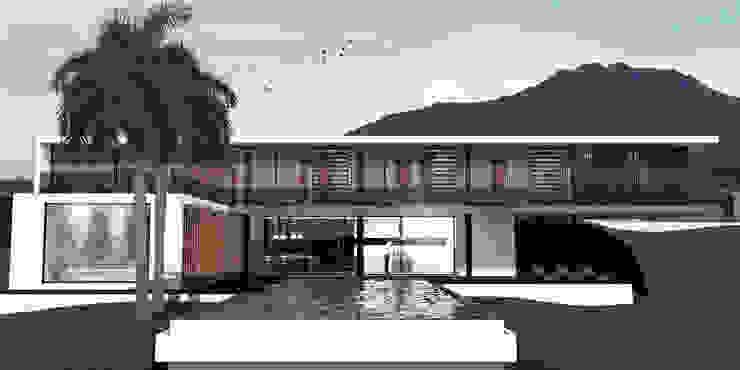 Casa Calima Casas de estilo minimalista de Gamma Minimalista