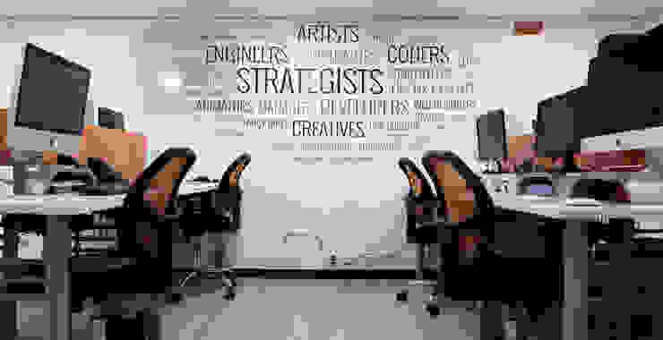 MDS EU Estudios y despachos de estilo moderno de Gamma Moderno