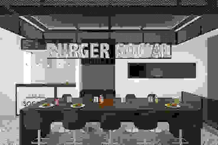 Burger Social de Gamma Moderno