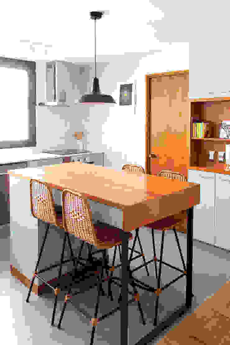 Remodelación Cocina Cocinas de estilo moderno de ESTUDIOFES ARQUITECTOS Moderno