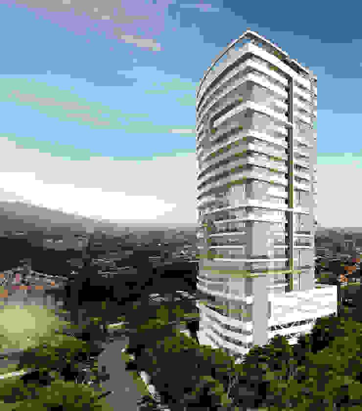 FACHADA LATERAL Casas modernas de Diseños y construcciones Dyco Moderno