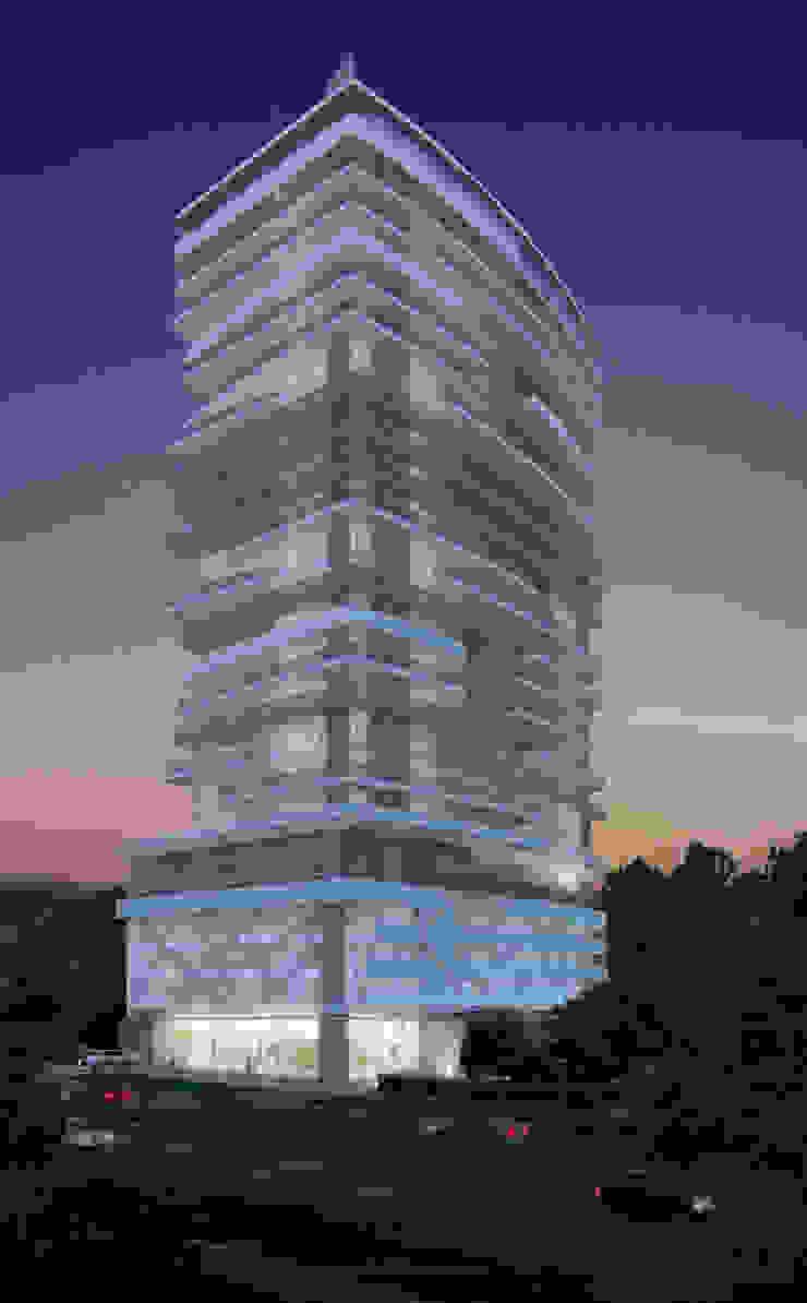 FACHADA PRINCIPAL Casas modernas de Diseños y construcciones Dyco Moderno