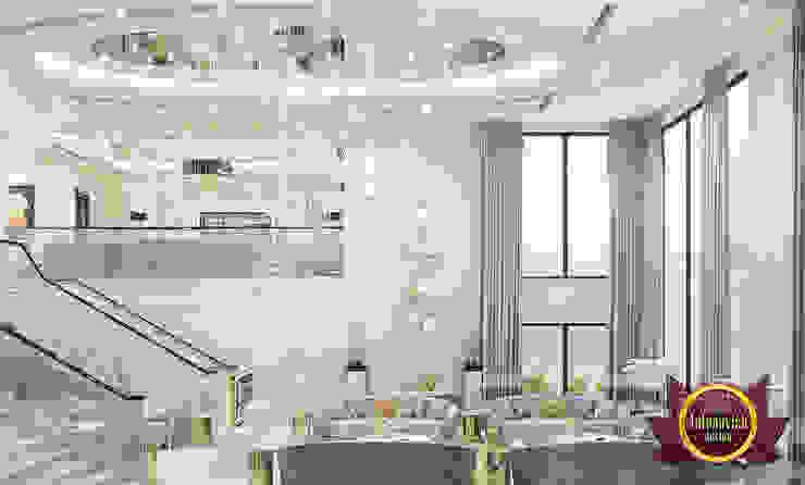 Top Proper Furniture Arrangement for Bigger Space by Luxury Antonovich Design