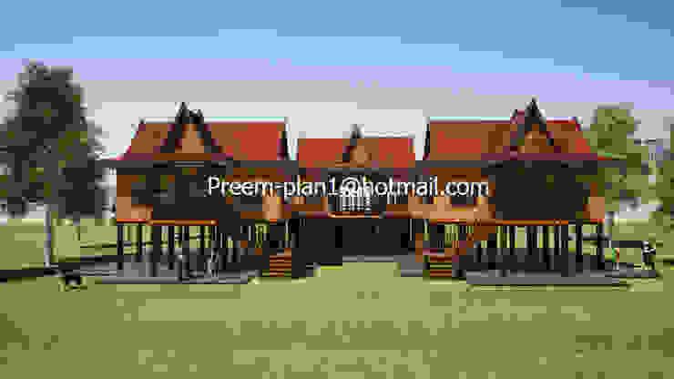เรือนไทย โดย รับเขียนแบบบ้าน&ออกแบบบ้าน คลาสสิค