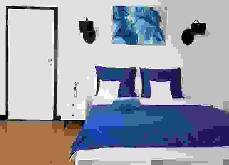 Martyna Szulist Ausgefallene Schlafzimmer Blau