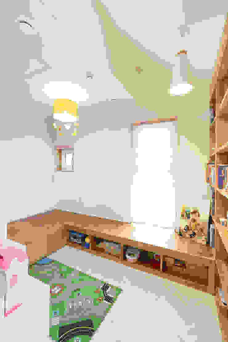 세종시주택 락현재 아이방 by 주택설계전문 디자인그룹 홈스타일토토 모던 우드 우드 그레인