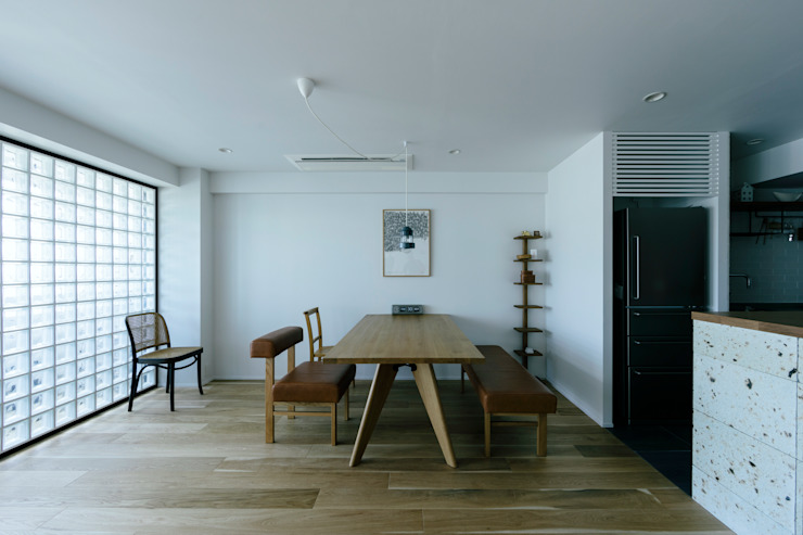 Scandinavian style dining room by ELD INTERIOR PRODUCTS Scandinavian
