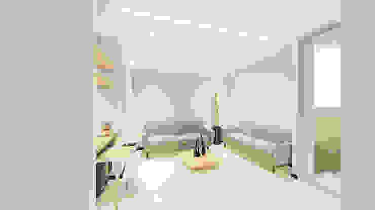 REMODELACION APTO de SEQUOIA. Projects & Designs Moderno
