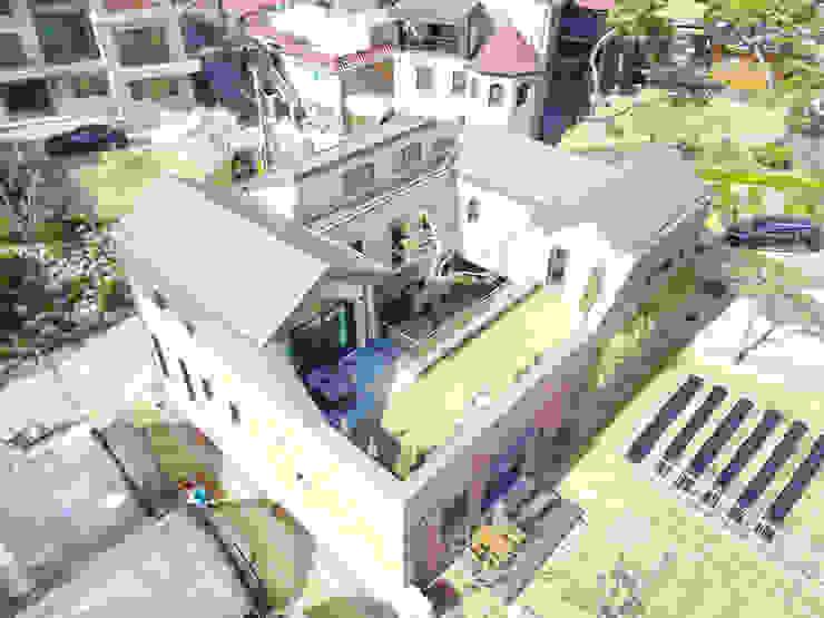 암사동 중정주택 포림재 by 주택설계전문 디자인그룹 홈스타일토토 모던 벽돌
