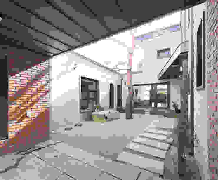 Taman zen oleh 주택설계전문 디자인그룹 홈스타일토토, Modern Batu
