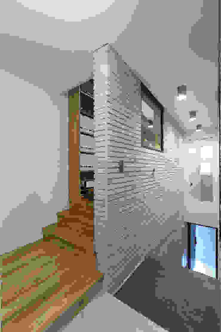마포구 대흥동 상가주택 by 주택설계전문 디자인그룹 홈스타일토토 모던 벽돌