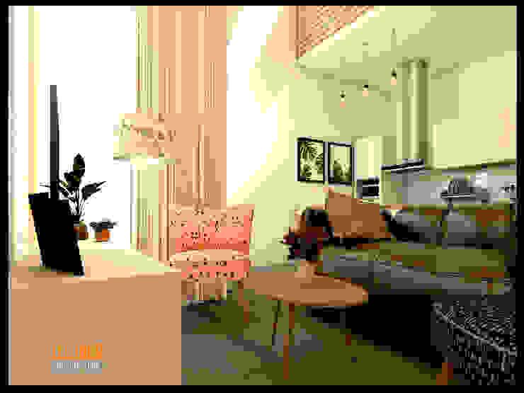CV Leilinor Architect ห้องนั่งเล่น Beige